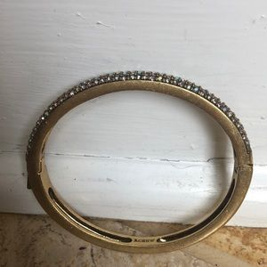 J. Crew bangle with crystals